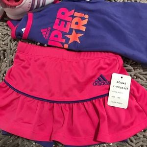 Tow pieces adidas for girls